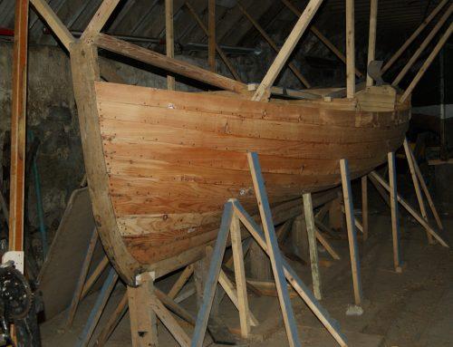 Boats Stored At Cowhythe, Portsoy