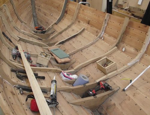 Portsoy based Boatshed project seeks to preserve traditional boat building skills whilst teaching important life skills